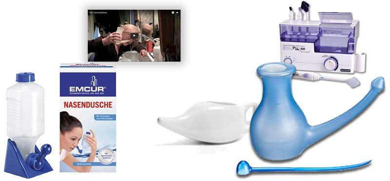 Inhalt [verstecken]. Nasal rinsing; Usage